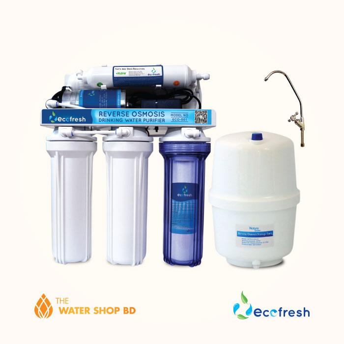 Ecofresh RO Water Purifier Eco 501