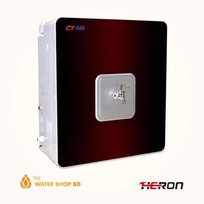 Heron RO Water Purifier CT 40 maroon