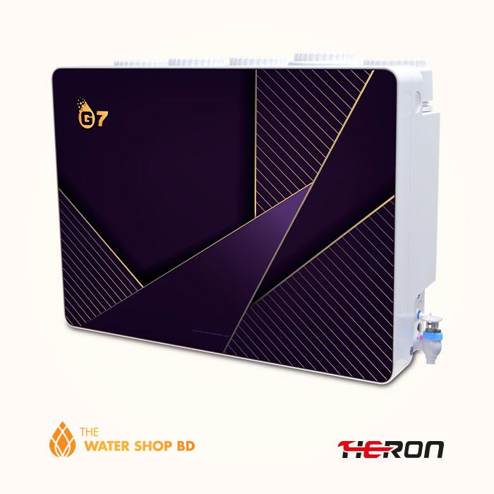 Heron RO Water Purifier G7 deep purple